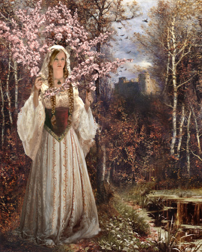 The Lady of Shalott the poem by Alfred Tennyson ...